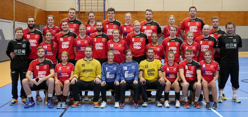 Team Damen und Herren 2016/17