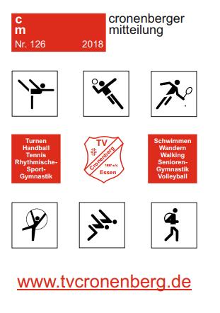 Cronenberger Mitteilung Nr. 126 als PDF Download