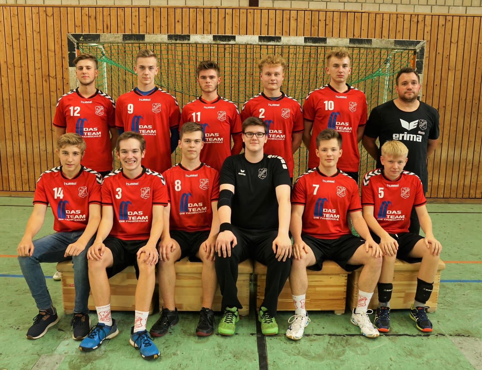 Mannschaft A-Jugend Saison 2018 / 2019