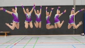 Die Gruppe NONAME bei den Deutschen Meisterschaften Gymnastik und Tanz in Meinerzhagen 2019